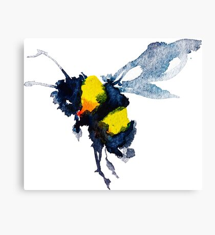 BAANTAL / Pollinate / Bee Canvas Print
