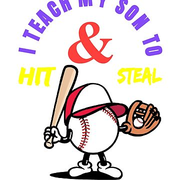 I teach my son to hit and steal by Amor-Valley