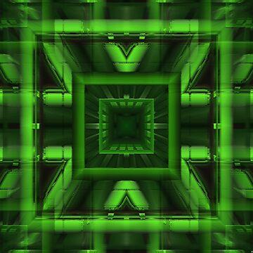 Trapped in green by TiiaVissak
