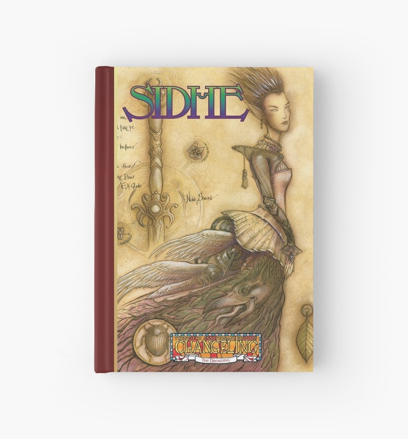 Dreaming Cover Art: Sidhe by TheOnyxPath