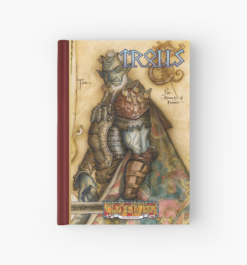 Dreaming Cover Art: Trolls by TheOnyxPath