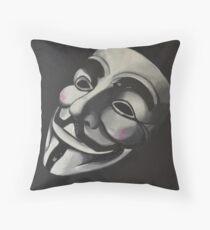 V is for Vendetta Throw Pillow