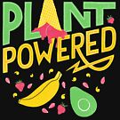 Plant powered – Vegan lettering by Josephine Skapare