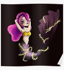 electric mermaid Poster