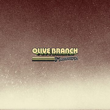 Olive Branch, MS | City Stripes by retroready