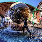 Fountain at the Bus Station by Tom Gomez