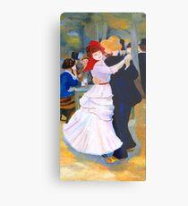 Dance at Bougival after Renoir Metal Print