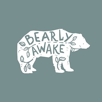 Bearly despierto de birchandbark