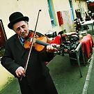 The Violin Player by Zoltan Madacsi