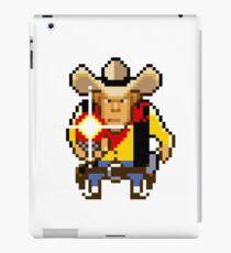 Guns n' bottles icon iPad Case/Skin