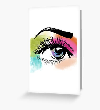 Eyeful Greeting Card
