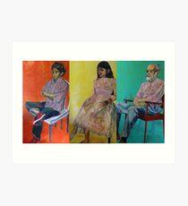 omar, ahn-thu and dr. weiss Art Print