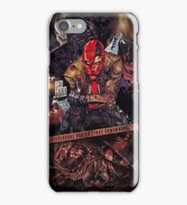 Red Hood - Everyone Has To Start Somewhere iPhone Case/Skin