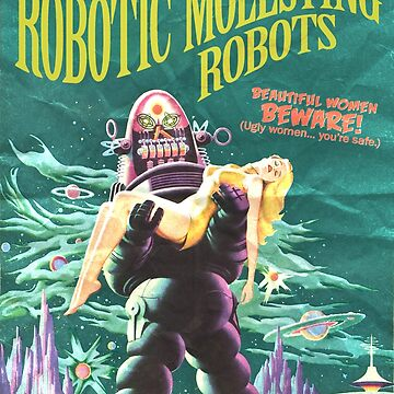 Planet of Robotic Molesting Robots by adamcampen