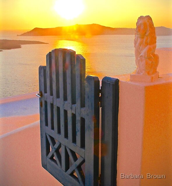 Heaven's Gate by Barbara  Brown