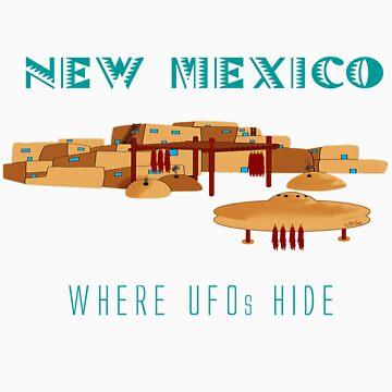 New Mexico - Where UFOs Hide by Sena