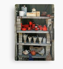 Farmers Wife's Collection Metal Print