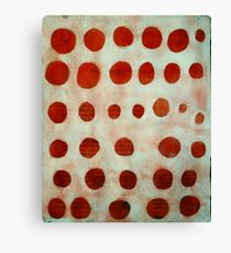 red spots Canvas Print