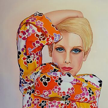 Twiggy - 1960's Super Model by ArtbyCPolidano