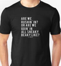 CSGO Quote | Sneaky Beaky | White Unisex T-Shirt