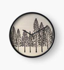 Pines 1 Clock