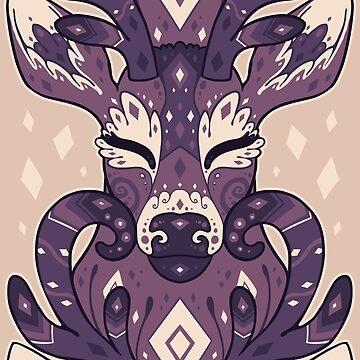 Deery - purple by psychonautic