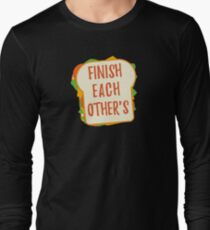 Finish Each Other's Sandwiches : Princess Scene Shirt Long Sleeve T-Shirt