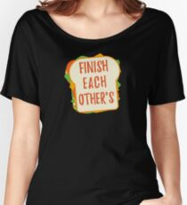 Finish Each Other's Sandwiches : Princess Scene Shirt Relaxed Fit T-Shirt