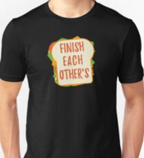 Finish Each Other's Sandwiches : Princess Scene Shirt Slim Fit T-Shirt
