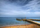 Whitby Beach by Svetlana Sewell