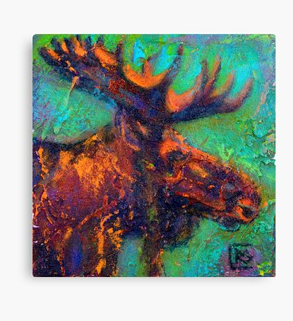Earth Keeper: Moose Canvas Print