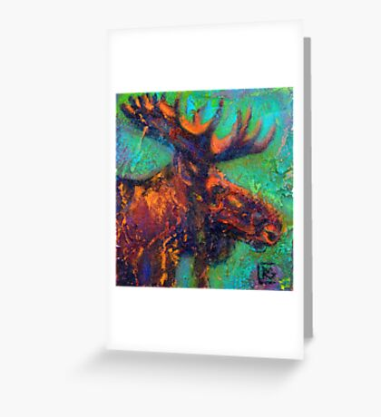 Earth Keeper: Moose Greeting Card