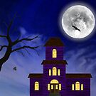 Cartoon Haunted House by Eric Pauker