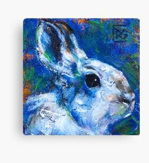 Earth Keeper: Snowshoe Hare Canvas Print