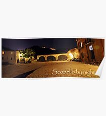 Scopello by night Poster