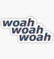 Woah woah woah Peter kavinsky Sticker
