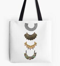 four RBG collars  Tote Bag