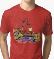 calvin and hobbes 03 [TW]  Tri-blend T-Shirt