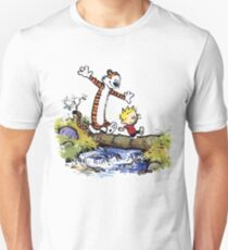 calvin and hobbes 03 [TW]  Unisex T-Shirt
