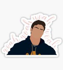 Peter kavinsky woah woah woah Sticker