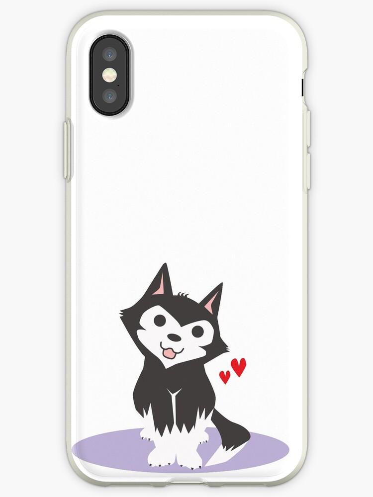 Cute Husky by KMTees