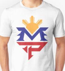 Manny MP Pacquiao philippinische Sun Flag Slim Fit T-Shirt