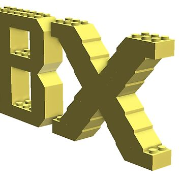 Bx Logo Light Yellow by bxbrix