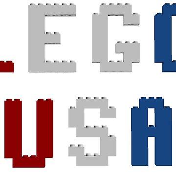 Lego USA by bxbrix