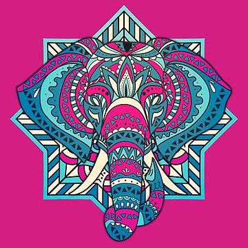 Elephant Mandala by MarylinRam18