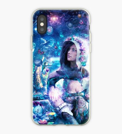 Observing Our Celestial Synergy iPhone Case