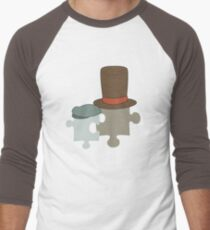 This reminds me of a puzzle Men's Baseball ¾ T-Shirt