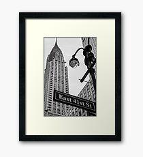 Chrysler Building, NYC Framed Print
