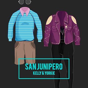 "Kelly & Yorkie ""San Junipero"" by MarylinRam18"