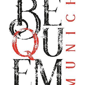 BEQUEM – Munich - 2 color by Art-Frankenberg